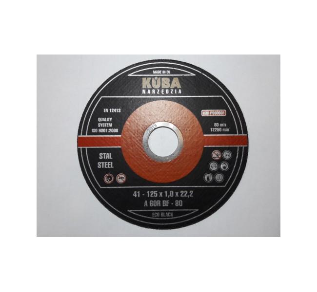 TARCZA 41 125X1X22,22 95A60RBF-8 ECO BLACK PERFECT