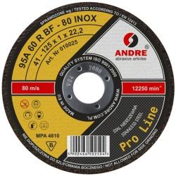 ŚCIERNICA 41 125x2,5x22,2 95A30R BF-80 INOX