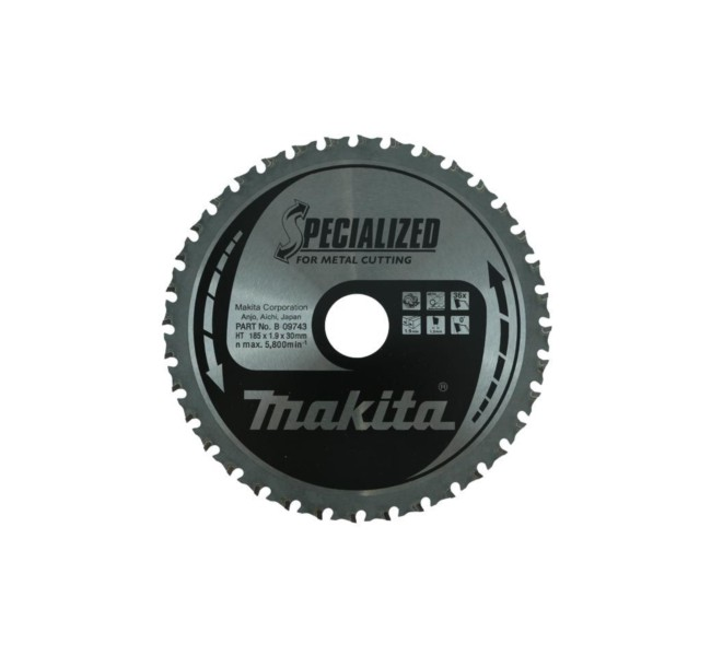 TARCZA MAKITA 185X30 36T SPECIALISED B-09743