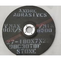 ŚCIERNICE 180X7X22 98C30TBF-80 STONE