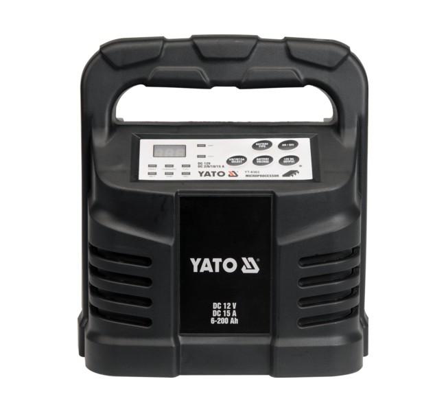 PROSTOWNIK ELEKTRON. 12V 15A 6-200A YATO YT-8303