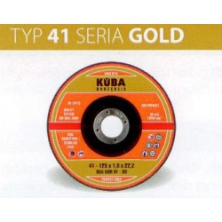 TARCZA 41 125X1X22,2 95A60RBF-80 PERFECT GOLD