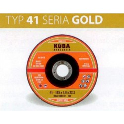 TARCZA 41 125X1,6X22,2 95A46RBF-80 PERFECT GOLD