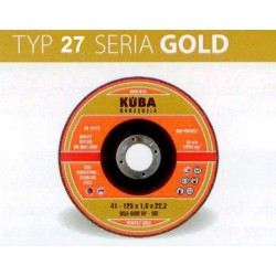 TARCZA 27 125X6X22,2 96A30QBF-80 PERFECT GOLD