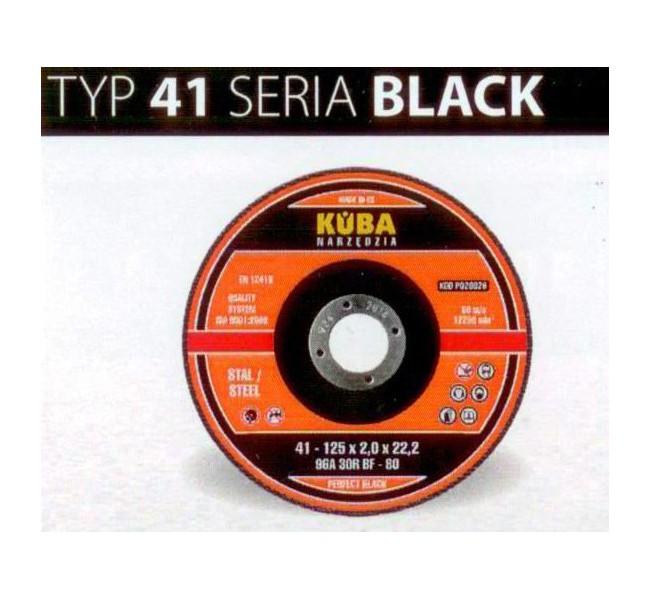TARCZA 41 300X3X32 96A24RBF-80 BLACK PERFECT