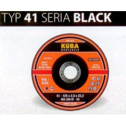 TARCZA 41 125X2,5X22 96A30RBF-80 BLACK PERFECT