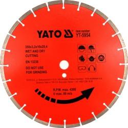TARCZA DIAMIENTOWA BETON  450X25,4    YATO YT-5956