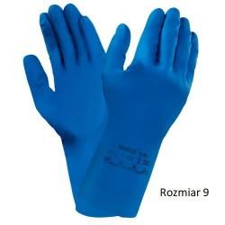 Rękawice lateksowe Ansell AlphaTec 87-195 Rękawice ochronne Ansell alphatec