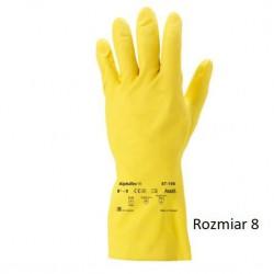 Rękawice lateksowe Ansell AlphaTec 87-190 rozmiar 8
