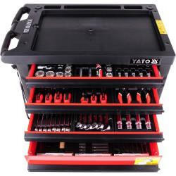 Jakie są narzędzia w wózku Yato?