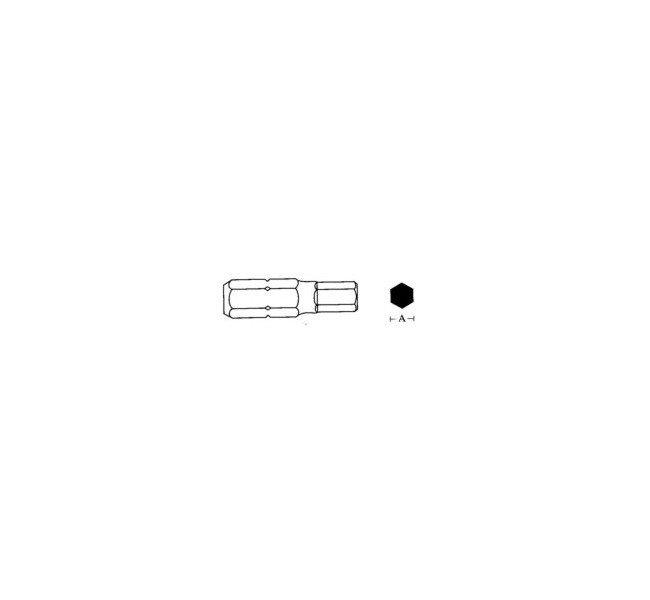Końcówka ampul.5x75mm 6kt.10mm  D175H50