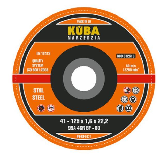 TARCZA 41 125X1,6X22,2 99A46RBF-80 BLACK PERFECT