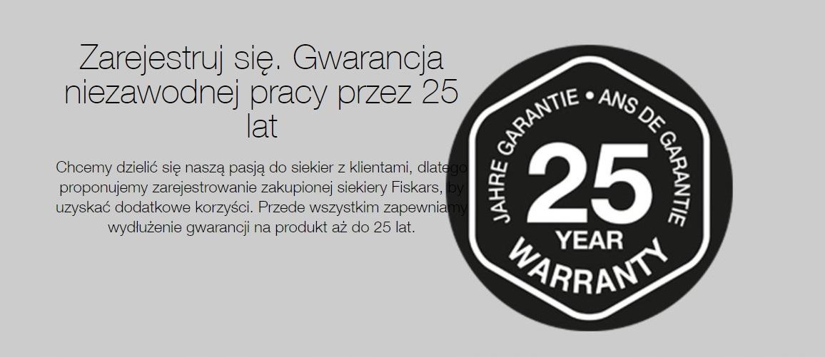 Fiskars X7 - Warunki Gwarancji na stronie Producenta FISKARS - sprawdź zapoznaj się z warunkami