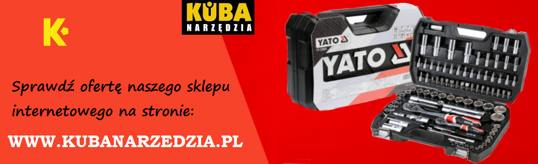 Hurtownia narzędzi - sprzedaż detaliczna i sprzedaż hurtowa dystrybutor YATO BETA VOREL STHOR FALA FLO ANDRE PERFECT BOSCH DEWALT MAKIA STANLEY PRO